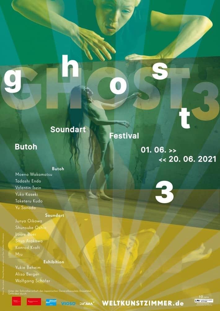 GHOST3 Butoh Soundart Festival vom 01. - 20. Juni 2021